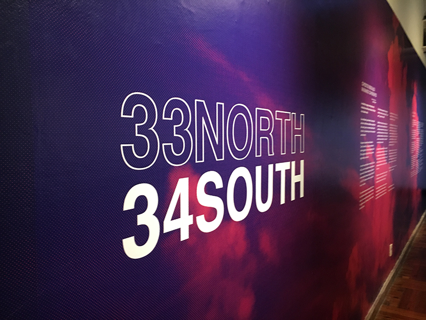 33North 34South