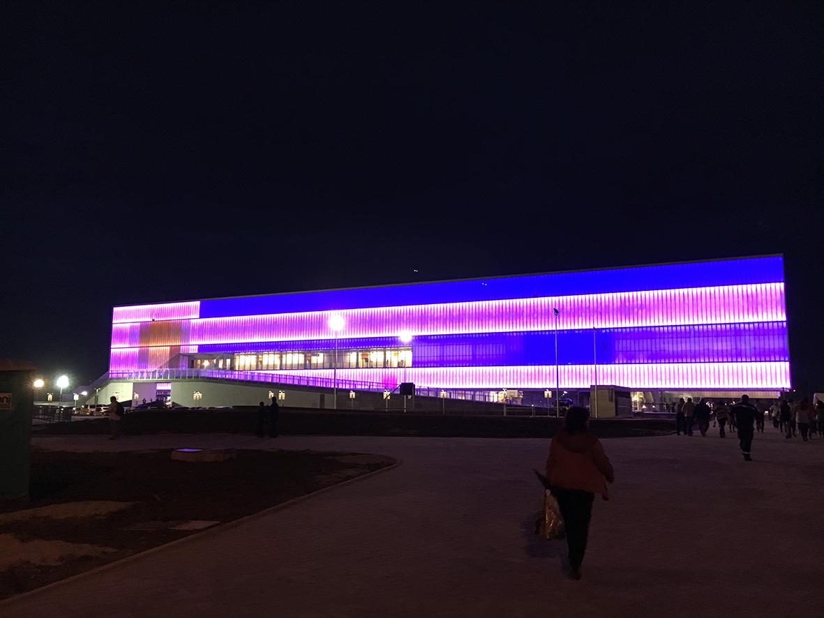 Inauguración Antel Arena