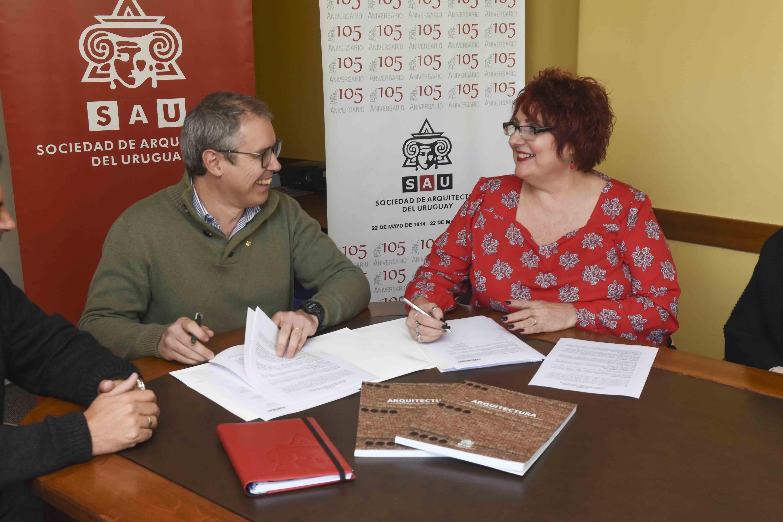 Firma del convenio SAU-Alianza