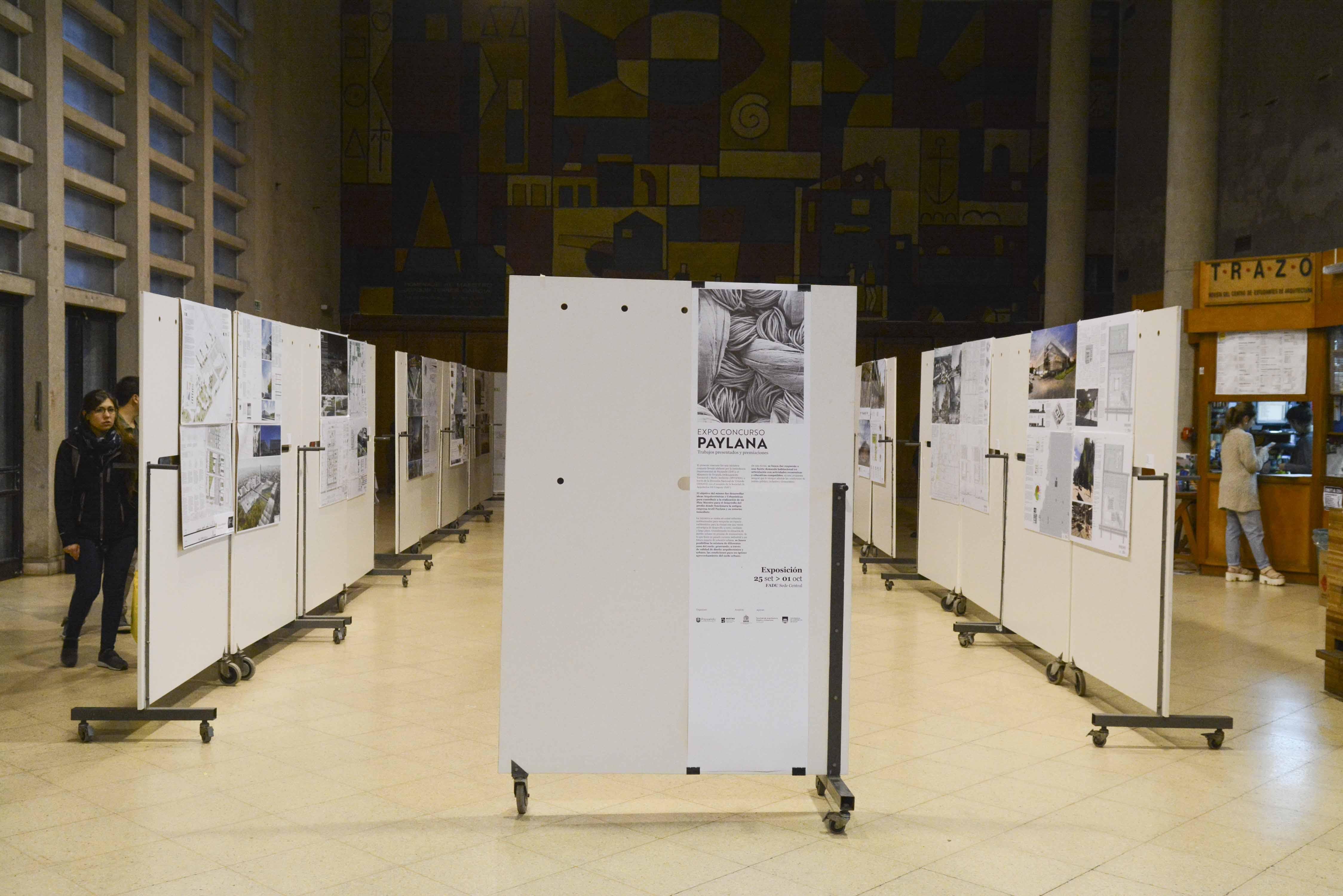Exposición en FADU