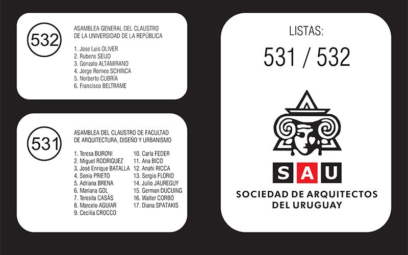 Elecciones universitarias plataforma sau sociedad de arquitectos del uruguay - Sociedad de arquitectos ...