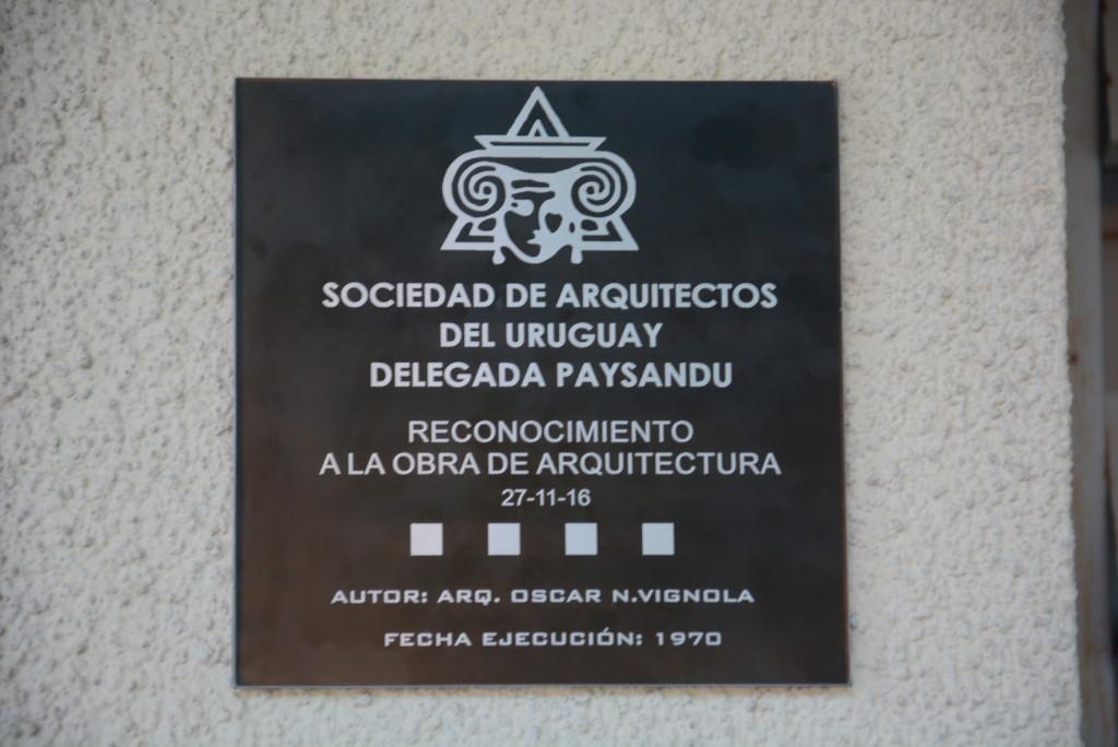Arq scar vignola reconocimiento a su obra sociedad de arquitectos del uruguay - Sociedad de arquitectos ...