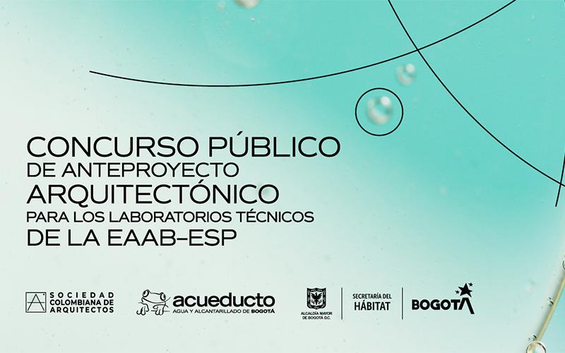 Concurso público de anteproyecto arquitectónico para los laboratorios técnicos de la eaab-esp