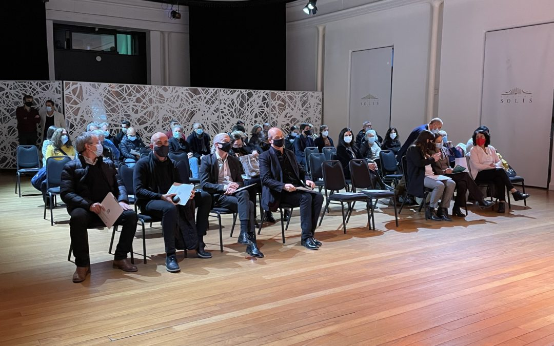 «Conservando Patrimonio» se presentó en el Teatro Solís