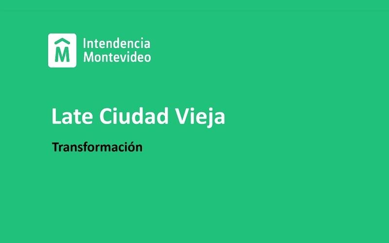 Intendencia de Montevideo presentó el proyecto «Late Ciudad Vieja»