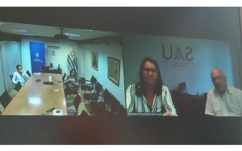 Reunión virtual entre MVOT y SAU