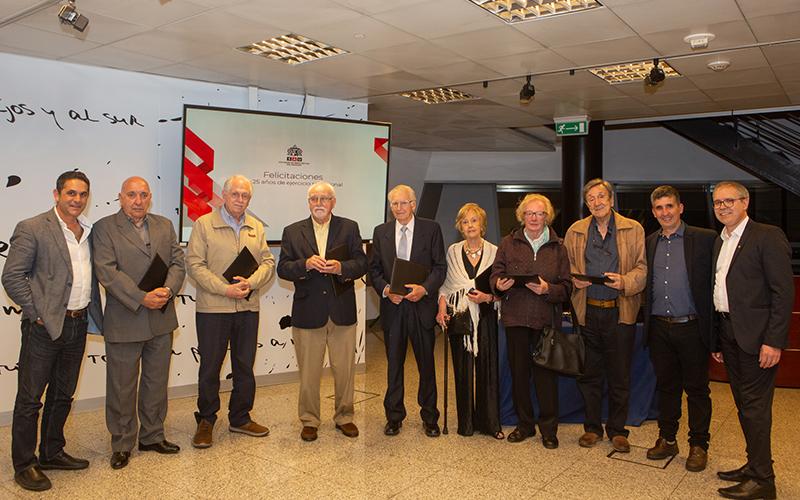 Homenaje a colegas | Día del Arquitecto