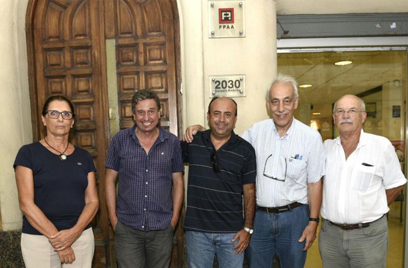 Visita a SAU | Presidente de FPAA