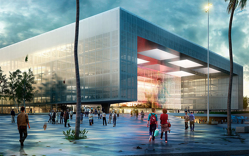 Inauguración Antel Arena | Saludo