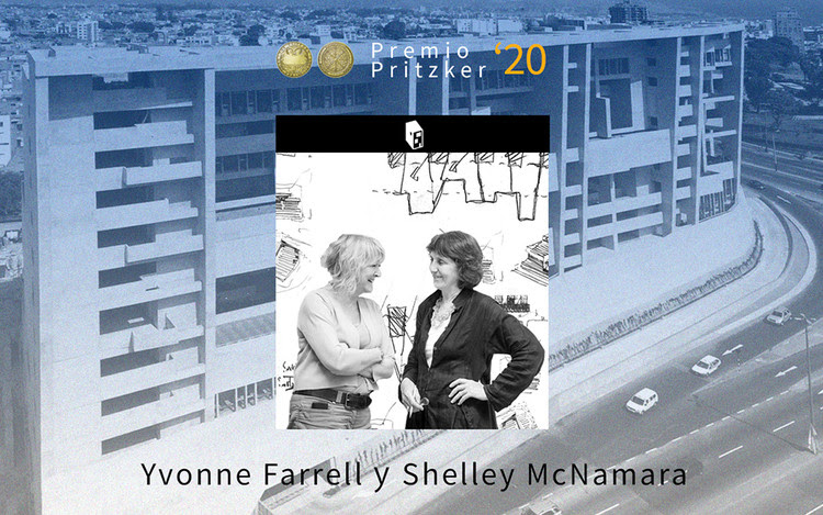 Yvonne Farrell y Shelley McNamara, Premio Pritzker 2020