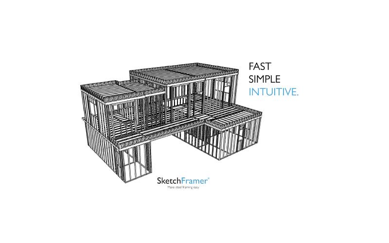 Diseño de Estructuras de Steel Framing   Sketchframer